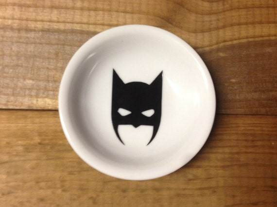 Ring Dish | Batman | Dark Knight | Trinket Dish | Ring Holder | Engagement Gift