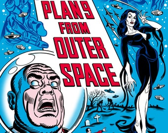 NEW! 'Plan 9 From Outer Space' Screenprint!