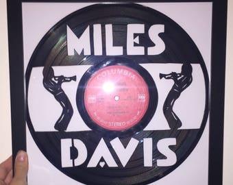 Miles Davis Vinyl Art-Wall Decor