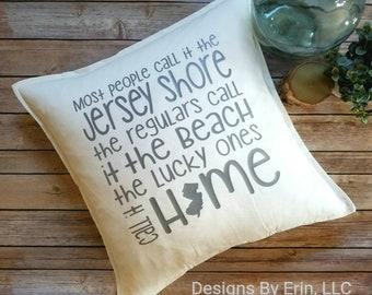 Lucky ones, Jersey Shore Pillow
