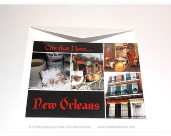 French Quarter Cards - City That I Love New Orleans Series