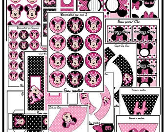 Minnie Mouse Party KITS