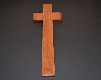 "Wood Wall Cross;4""x12""x1"";Christian Gift;Baptism, Christening; Confirmation; Sympathy; Easter; Graduation; Free Ground Shipping cc35-4022317"