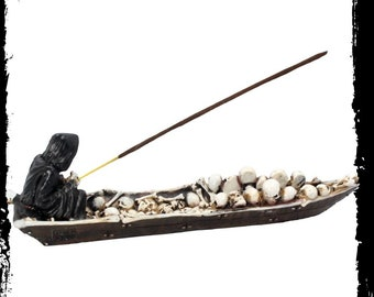 Reaper Incense Holder - Reaper Incense Smudge Wierook Cleansing gothic demonic