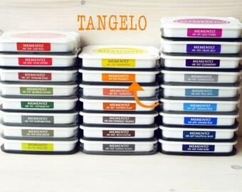 Large MEMENTO  raised dye ink pad TANGELO