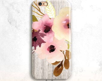 Floral iPhone 8 Case, Flowers iPhone 6S Case, iPhone 7 Case, iPhone 6 Plus, iPhone SE Case, Floral iPhone 6 Case, Flowers iPhone 8 Plus