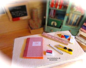 Miniature creative kit  - scale 1:12- dollhouses