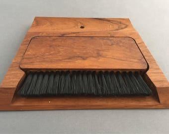 Vintage Scandinavian Teak Crumb Tray