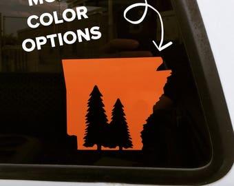 Arkansas Pine Tree decal