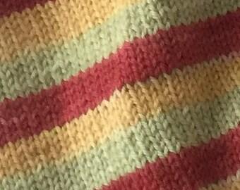 Self Striping Sock yarn in Jane Bennett