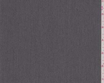 Taupe Grey Polyester Herringbone Suiting, Fabric By The Yard