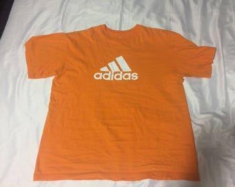 Vintage Orange Adidas Tee
