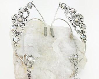 Elven Ear Cuff - Elven Ears - Fairy Ears - Wire Ear Cuff - Fairy Ear Cuffs - Cosplay Ears - Mermaid Ear Cuff - Mermaid Costume - Elf Costume