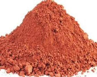 French Red Clay, Red Clay, 100% Pure and Natural.