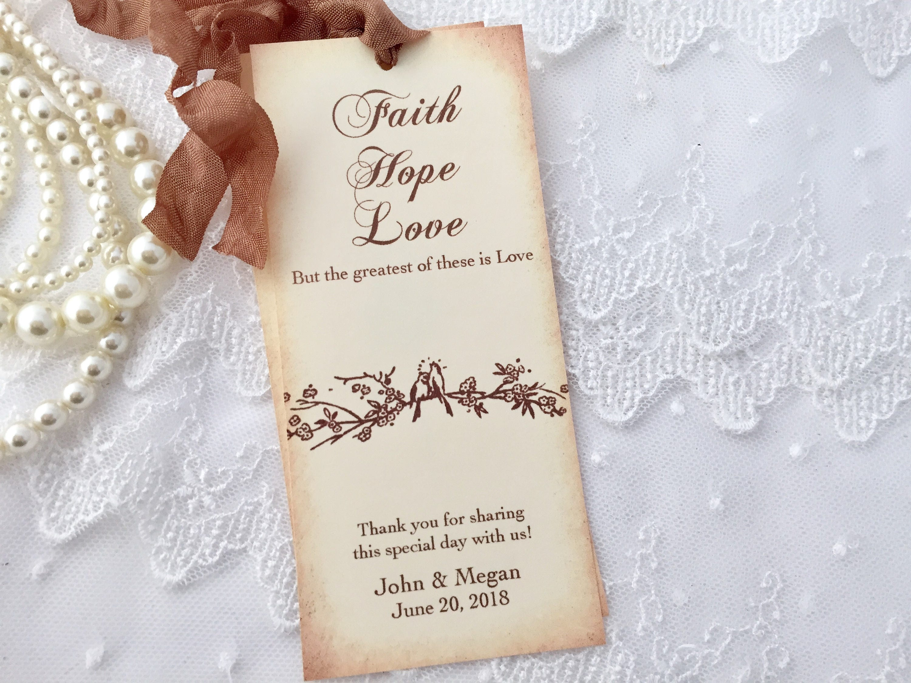Wedding Favors Wedding Bookmark Favors Bookmark Favors Set
