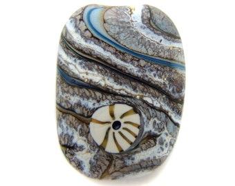 Batura Lampwork Focal Bead