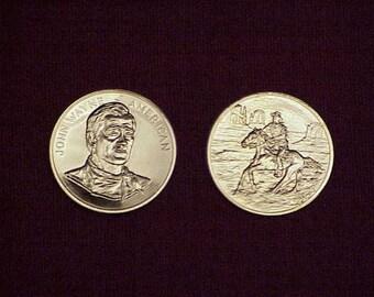 John Wayne 1979 Gold Plated Congressional Medal FREE SHIPPING!
