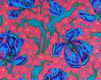 Phillip Jacobs Tulip turquoise PJ 14 Rowan Fabrics FQ or more