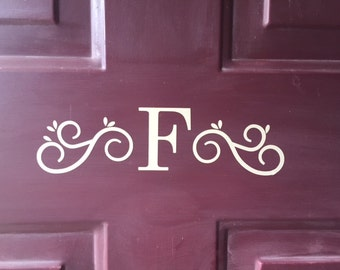 Personalized Front Door Vinyl Decal