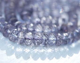 1/2 strand gorgeous mystic blue roundels