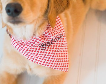 ADD A MONOGRAM to one of our bandanas   *this is for monogram ONLY
