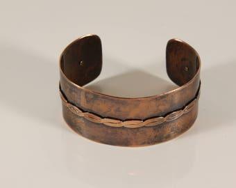 Cuff, Bracelet, copper, metal