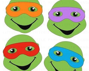 ninja turtle clipart etsy rh etsy com turtle clip art outlines turtle clip art images
