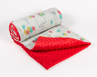 Up and Away Organic and Oeko-tex BABY or KIDS Blanket