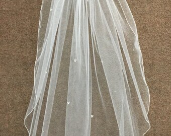 Hidden Mickey Wedding Veil - Elbow Length