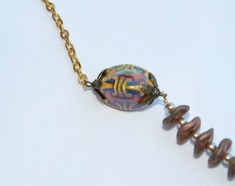 Colors of autumn necklace