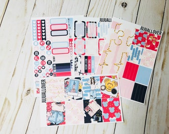 CASTLE Mini Kit Planner Stickers l Vertical Weekly Kit l White Space Stickers l Summer Mini Kit l Summer Stickers l Castle Stickers