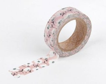 Soft Flower Washi Tape • Flower Washi Tape 19