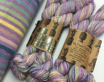 SELF-STRIPING ! - My Pastel Pallet  - 2 x 50g - 18 Stripes