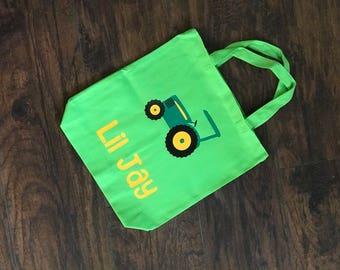 Customizable tractor bag