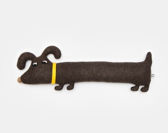 Rufus the Dog Lambswool Plush Toy - Made to order