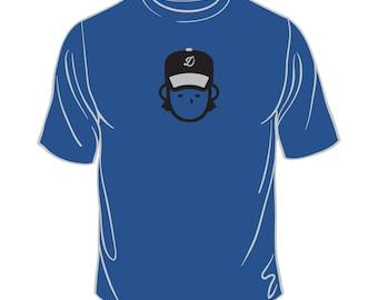 Royal Dude Baseball Tshirt