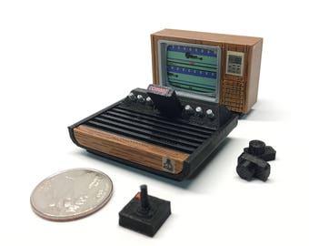 Mini Atari VCS/2600 Deluxe Set - 3D Printed!