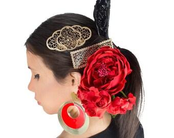 Ole Ole Flamenco Metal Comb