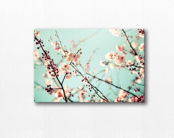 blossom photography canvas print flower photography nature canvas art 12x18 24x36 fine art photography canvas print large canvas art floral