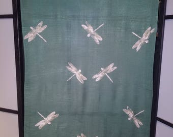 Dragonfly Scarf/Shawl (green)