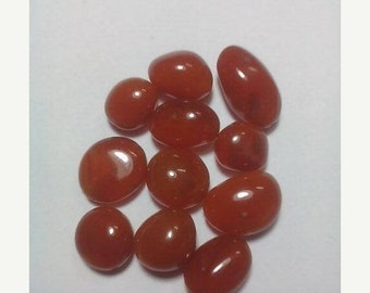 80% OFF SALE 5 Pieces Cornelian Smooth Tumbled Beads