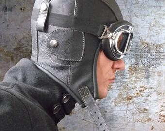 aviator hat sewing pattern, steampunk hat, pilot  hat , original aviator hat pattern tutorial