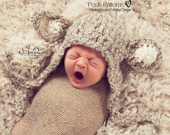 Crochet PATTERN. Crochet Hat Pattern. Crochet Pattern Hat. Lamb Hat Crochet Pattern. Crochet Pattern Baby. Crochet Lamb Hat. PDF 127