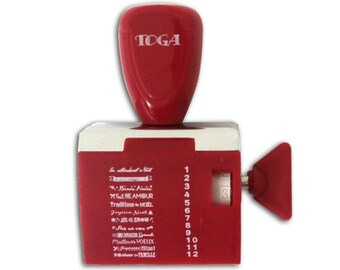 Buffer wheel Toga - Christmas - 12 messages - scrapbooking
