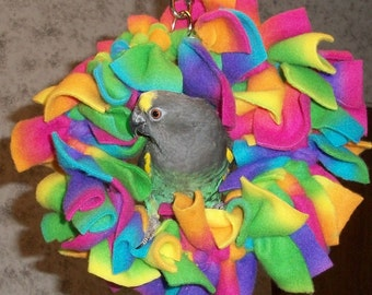 Small Parrot Snuggi Wreath
