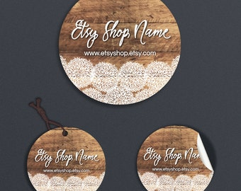 Candle Labels - Printable Price Tags - Price Tags - Printable Round Label  or Hang Tag Design - Sticker Designs -  Allison