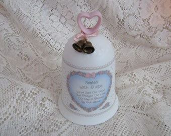 Precious Moments Sealed With A Kiss Wedding Bell