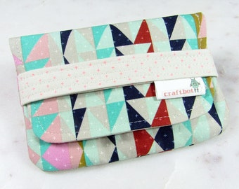Sanitary Pad Holder, Cotton and Steel, Tampon Case, Graphic Design Sanitary Pad Case, Tampon Holder, Sanitary Napkins Period Case, Card Case
