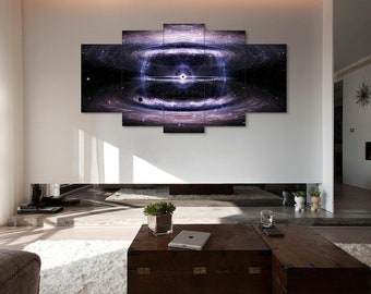 Space and time, Black Hole, Сolapse, Singularity, Black Hole print, Сollapse print, Black Hole canvas, Singularity canvas, Сollapse wall art
