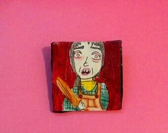 Wendy Torrance-The Shining Bat Badge